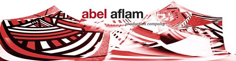 Composition peintures / logo Abel Aflam
